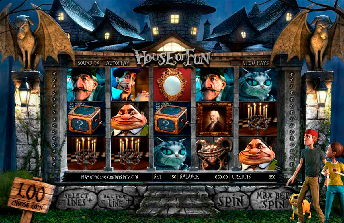 house of fun betsoft