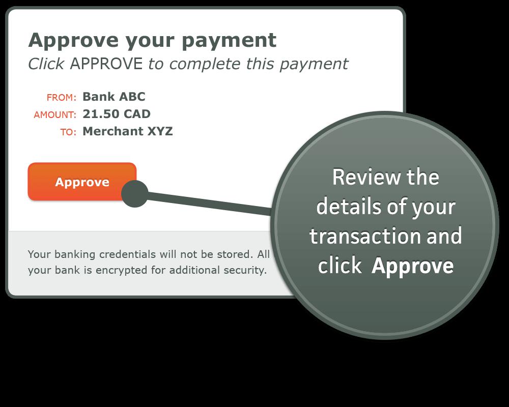 Idebit Betalen stap 5