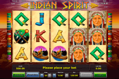 indian spirit novomatic gokkast