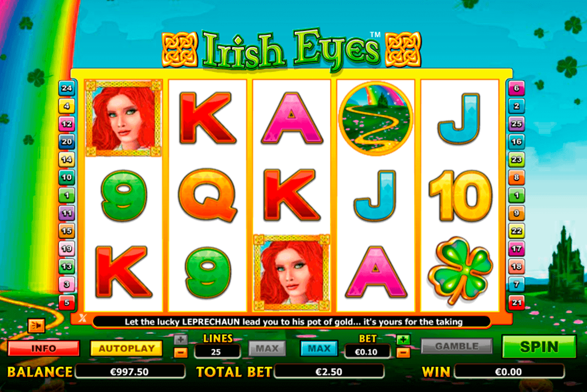 irish eyes netgen gaming gokkast
