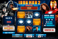iron man  scratch playtech krasloten