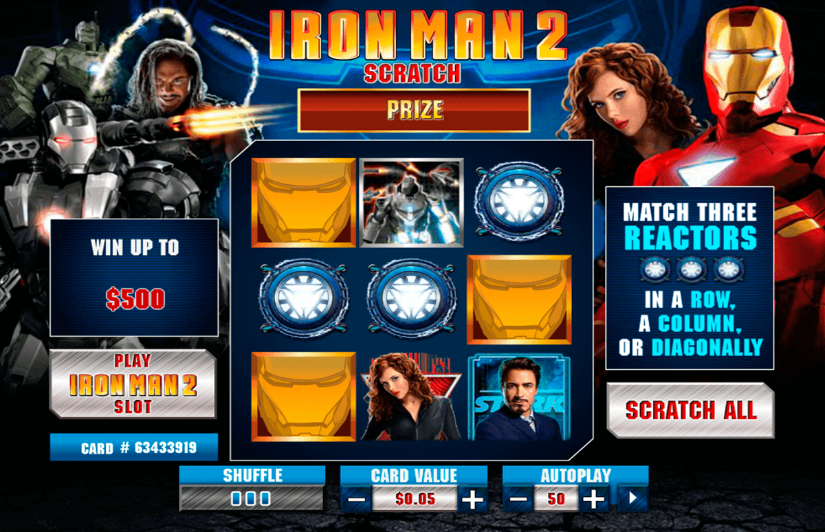 Online casino iron man 2