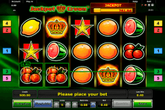 jackpot crown novomatic gokkast