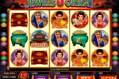 jewels of the orient microgaming gokkast