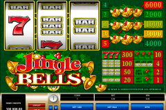 jingle bells microgaming gokkast