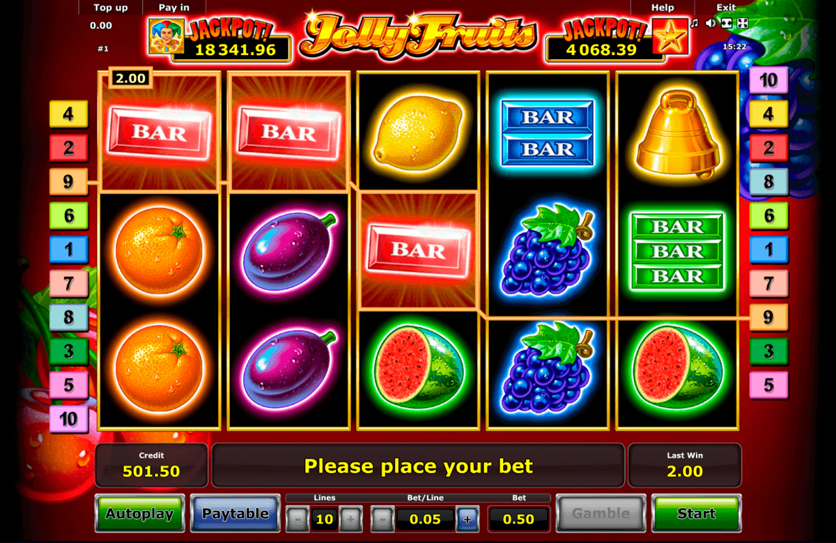Fruit casino