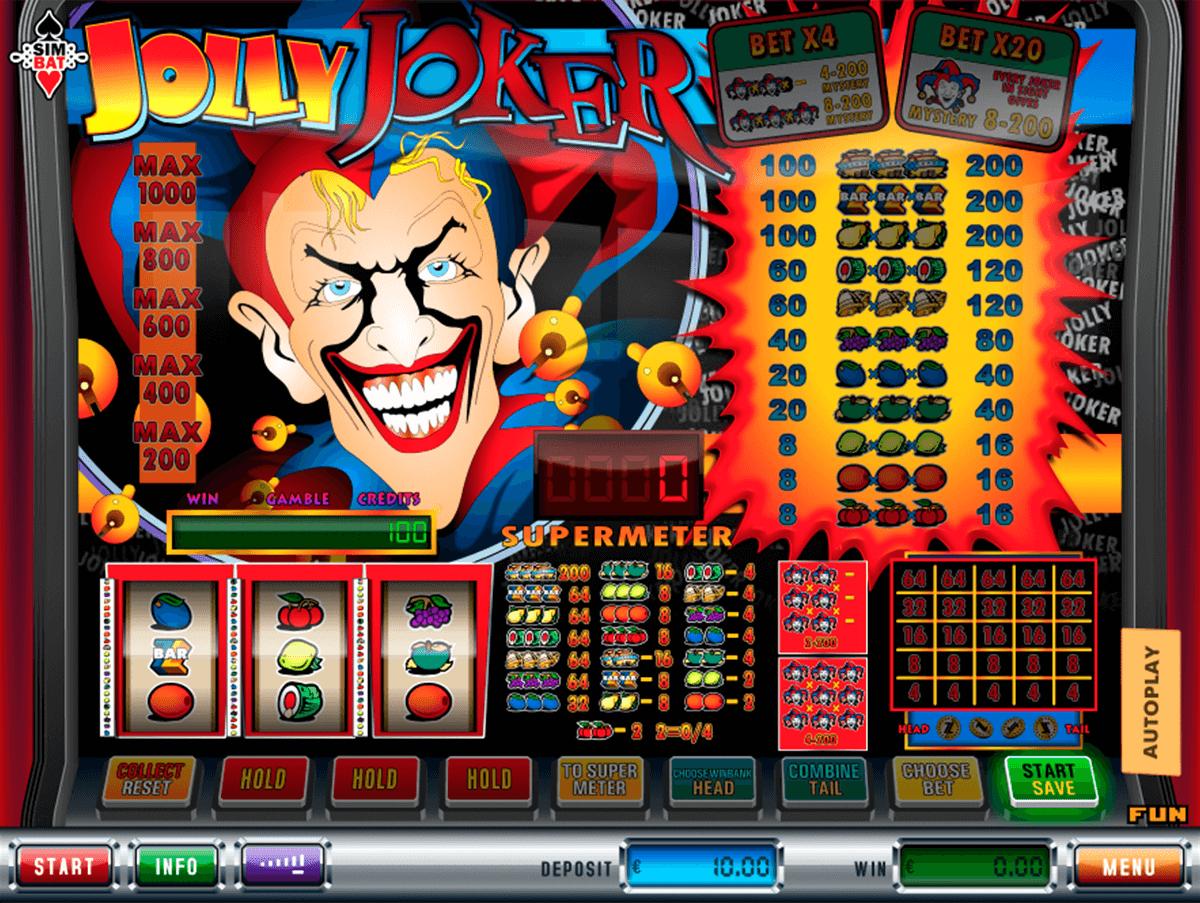 jolly joker simbat gokkast