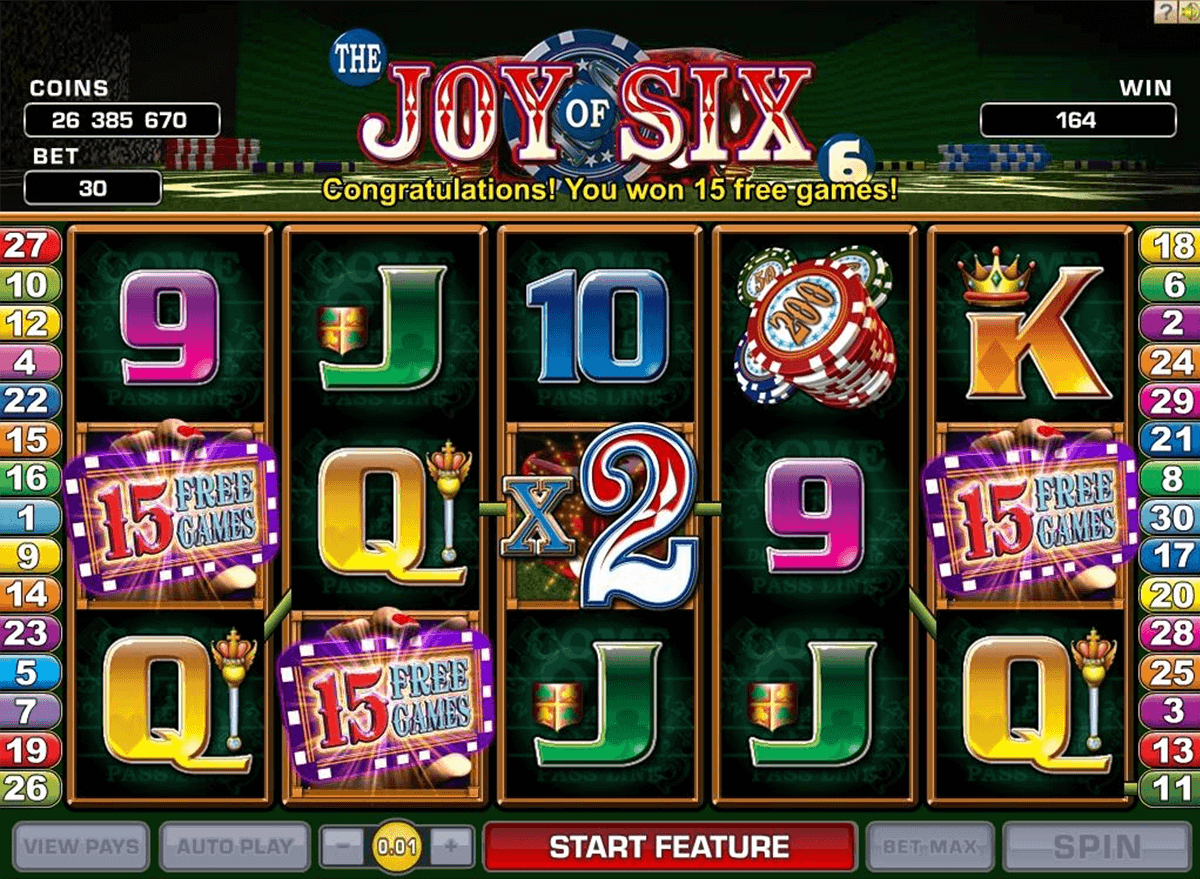 joy of si microgaming gokkast