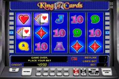 king of cards novomatic gokkast