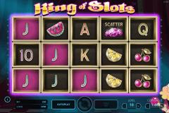 king of slots netent gokkast
