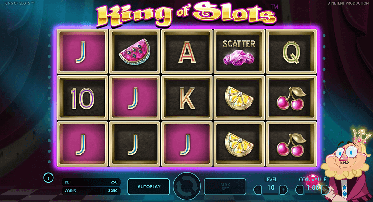 king of slots netent gokkast