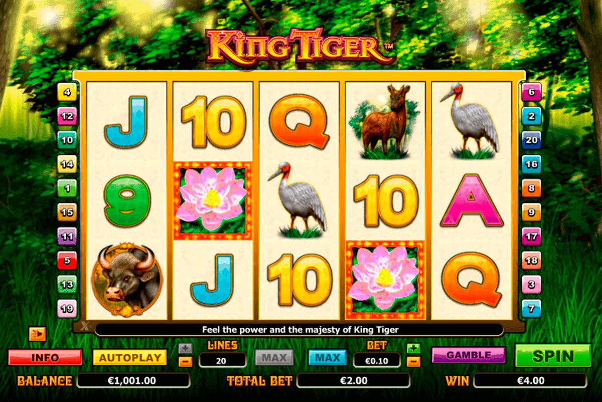 king tiger netgen gaming gokkast