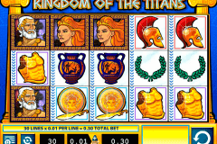 kingdom of the titans wms gokkast