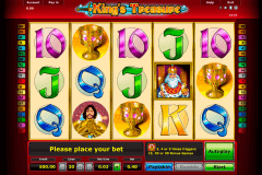 kings treasure novomatic gokkast