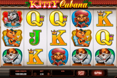 kitty cabana microgaming gokkast