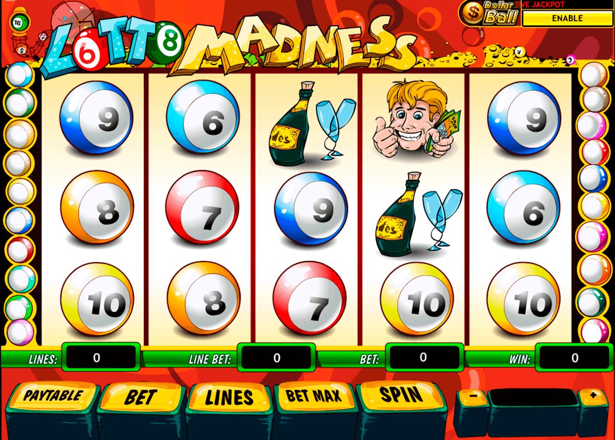 lotto madness playtech gokkast