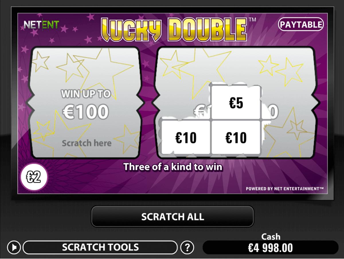 lucky double netent krasloten