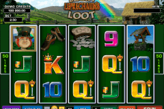 lucky leprechauns loot microgaming gokkast