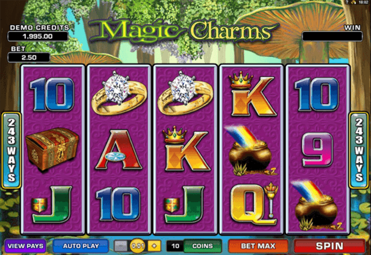 magic charms microgaming gokkast