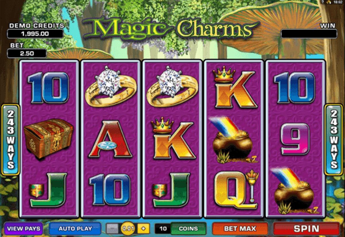 magic charms microgaming gokkast