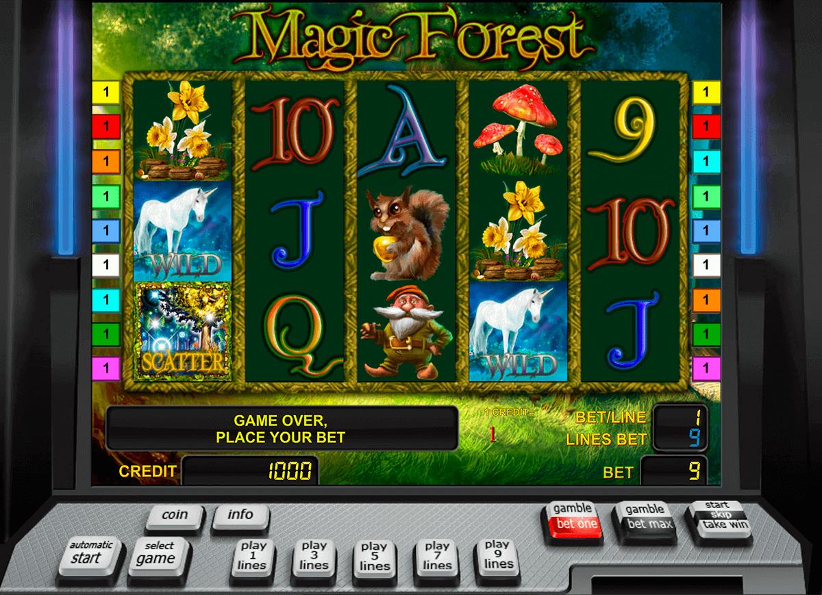 magic forest novomatic gokkast