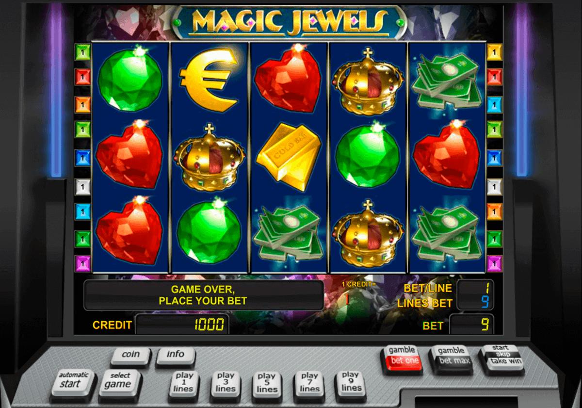 magic jewels novomatic gokkast