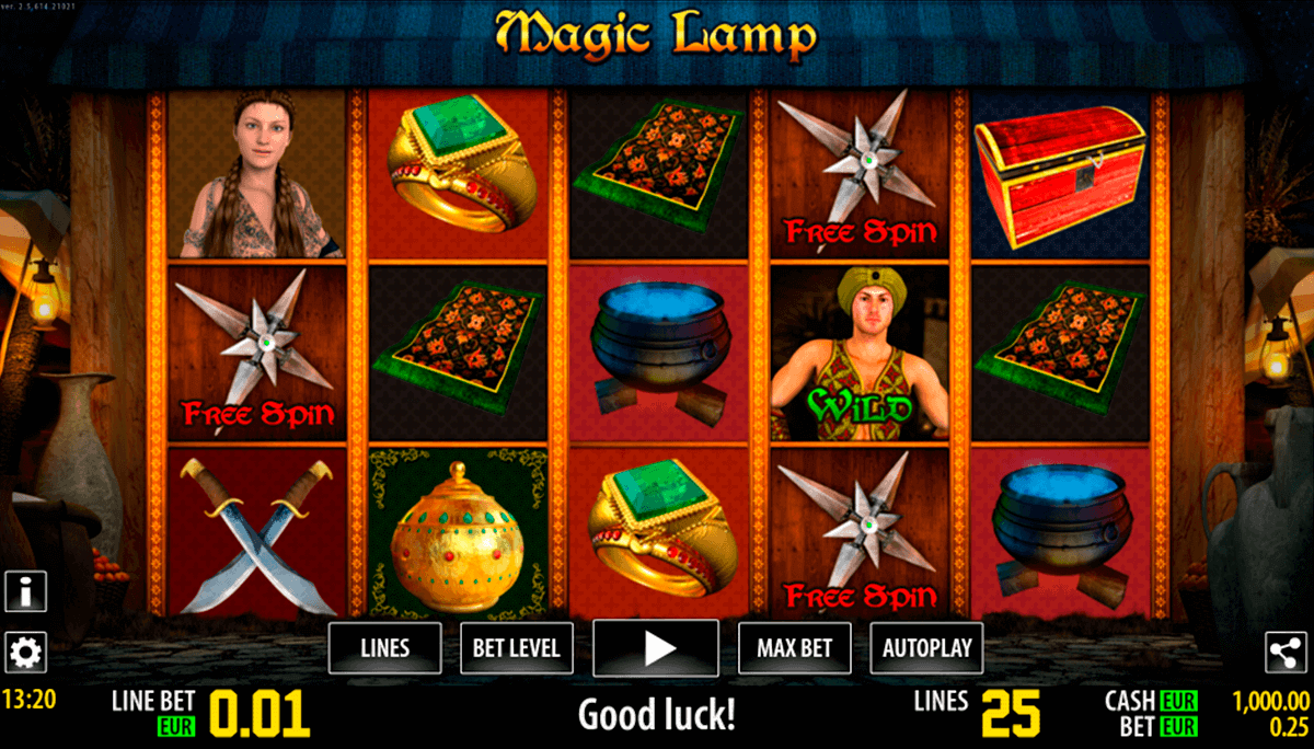magic lamp hd world match gokkast