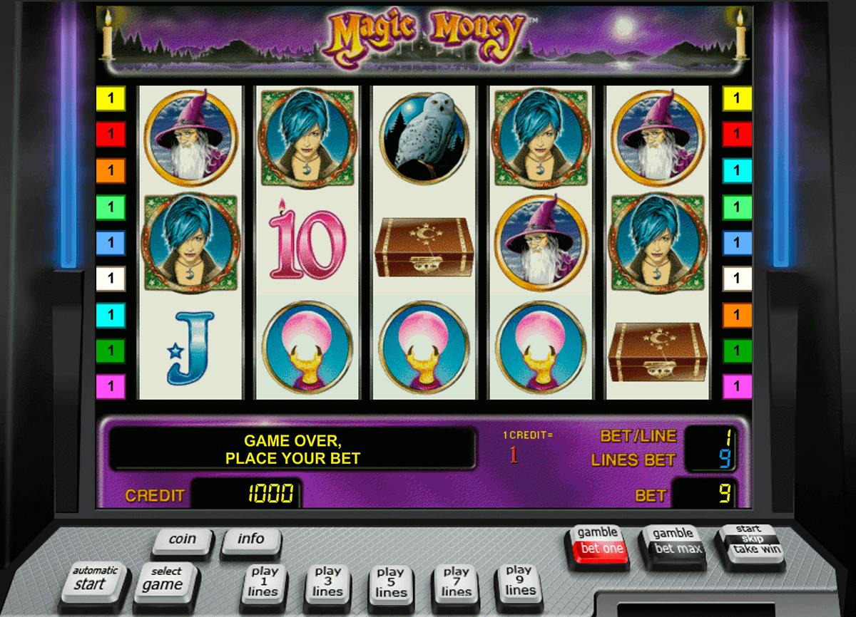 magic money novomatic gokkast
