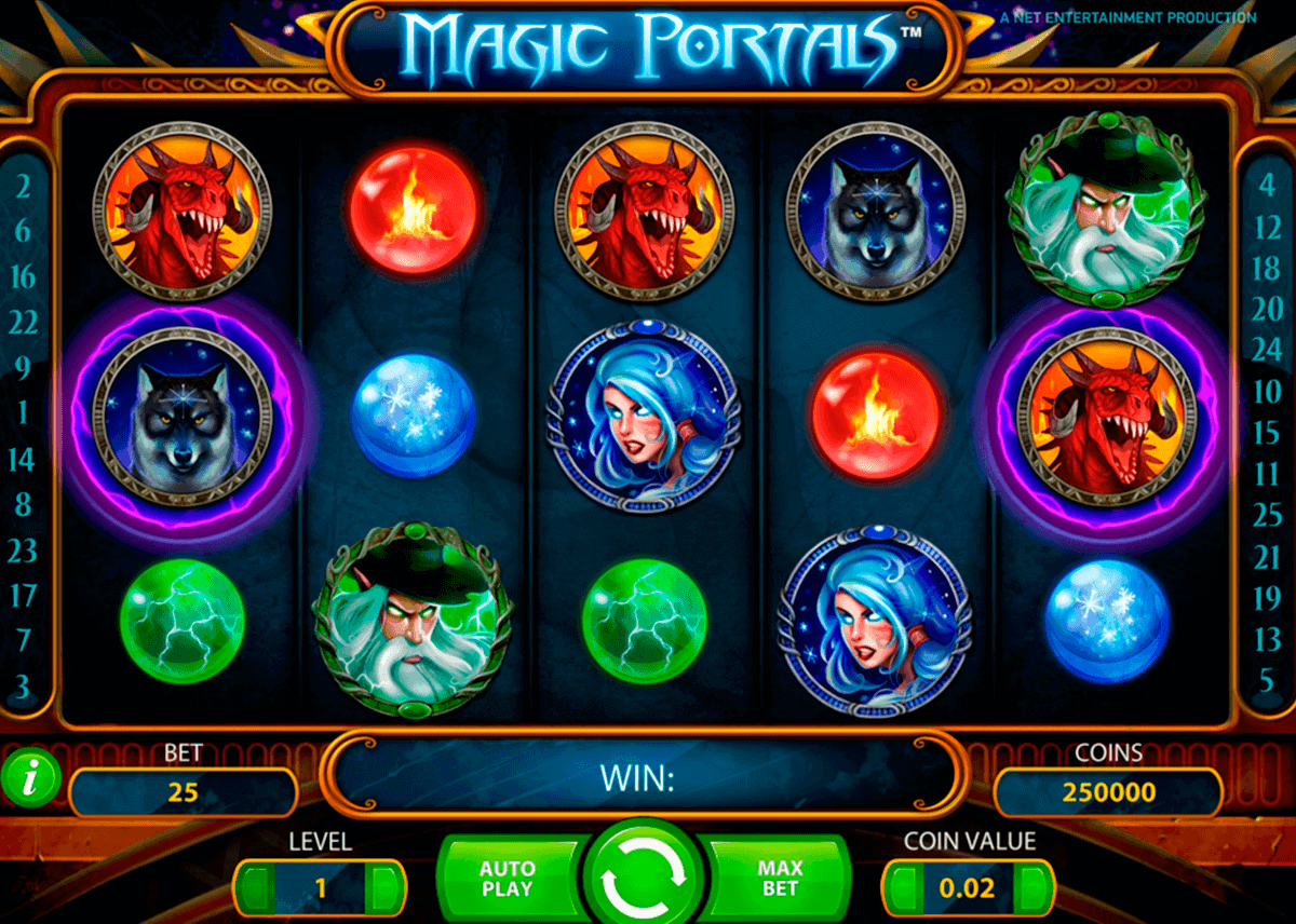 magic portals netent gokkasten