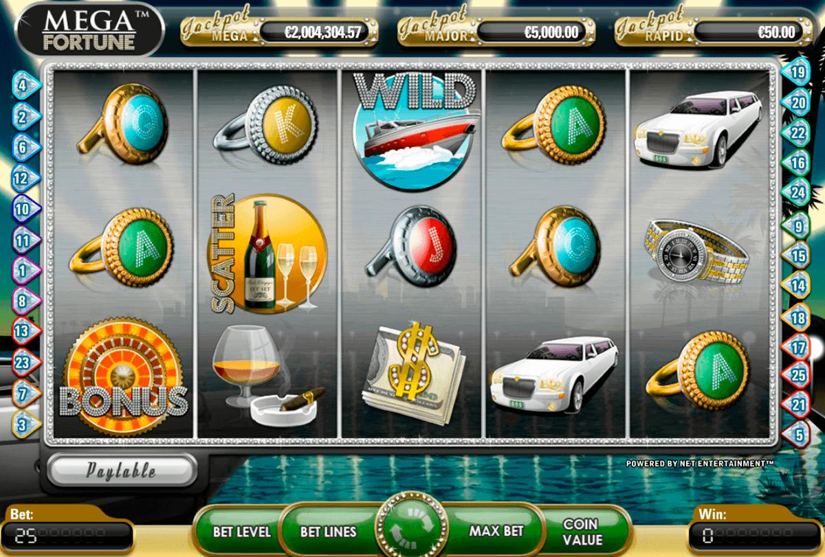 mega fortune netent gokkasten