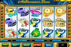 millionaires lane playtech gokkast