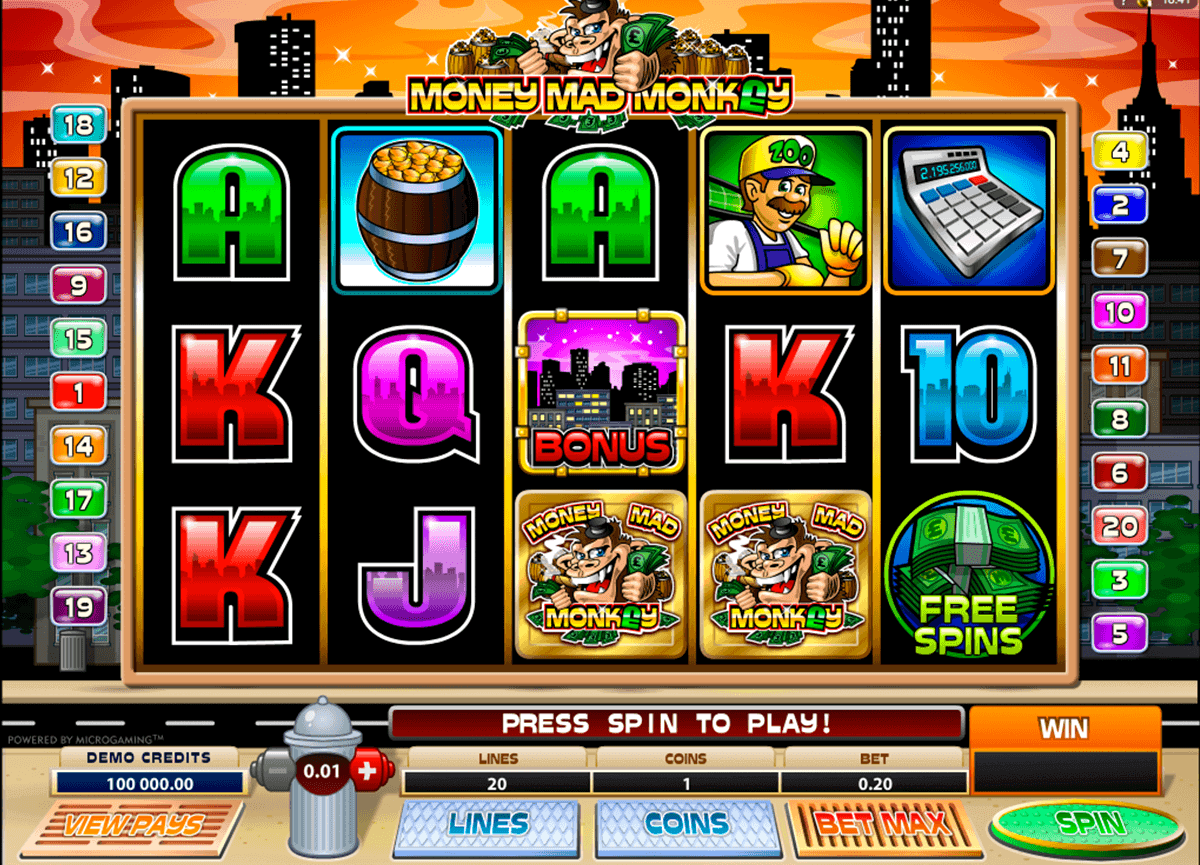 Spiele Money Mad Monkey - Video Slots Online