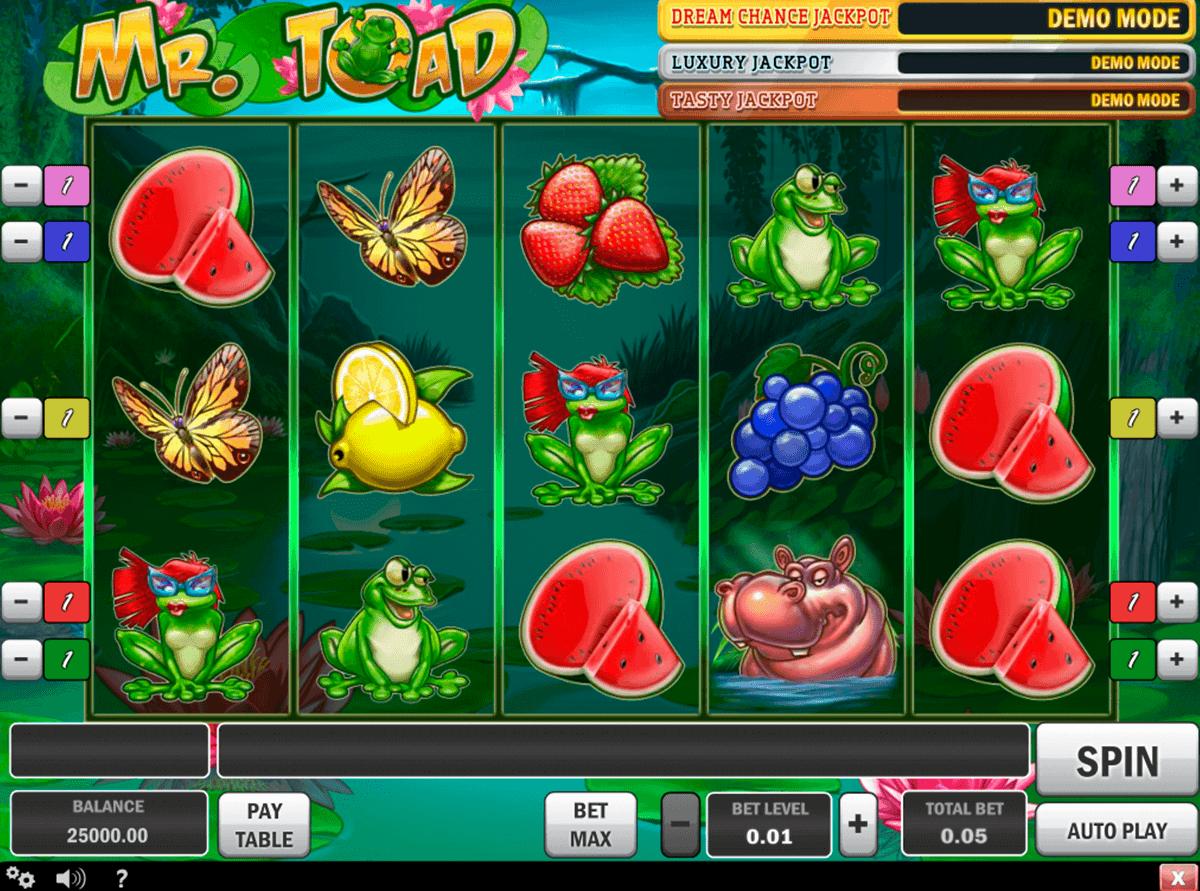mr toad playn go gokkast