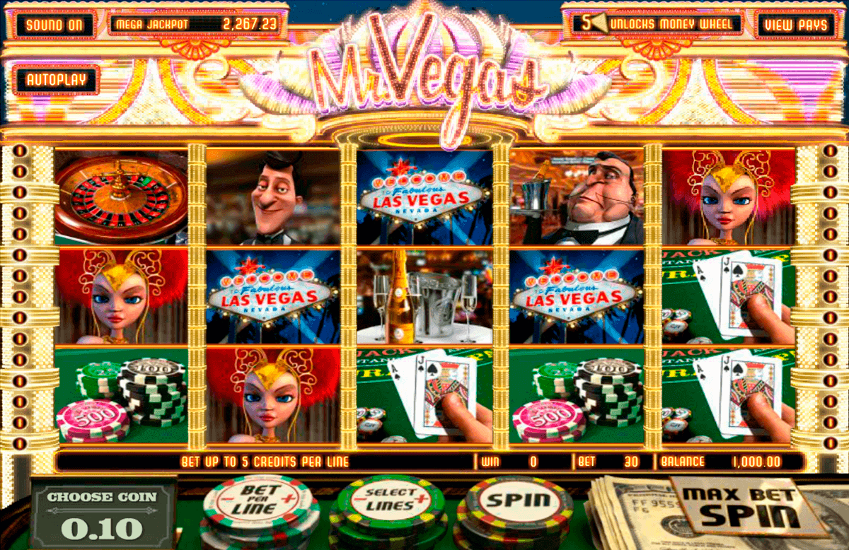 mr vegas betsoft gokkasten