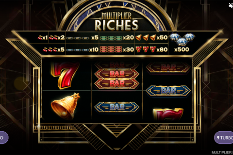 multiplier riches red tiger