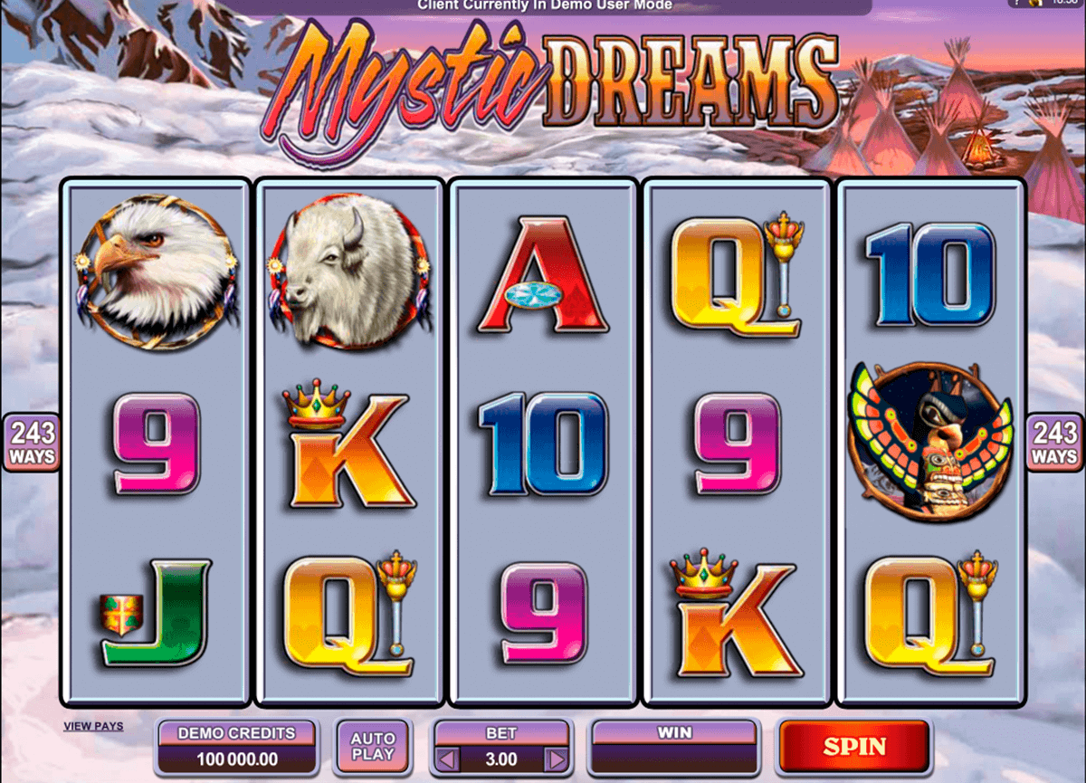 mystic dreams microgaming gokkast