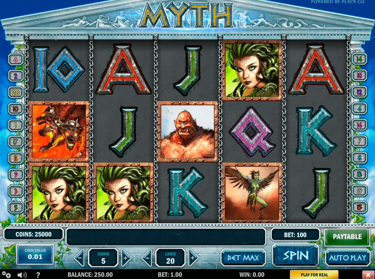 myth playn go gokkast