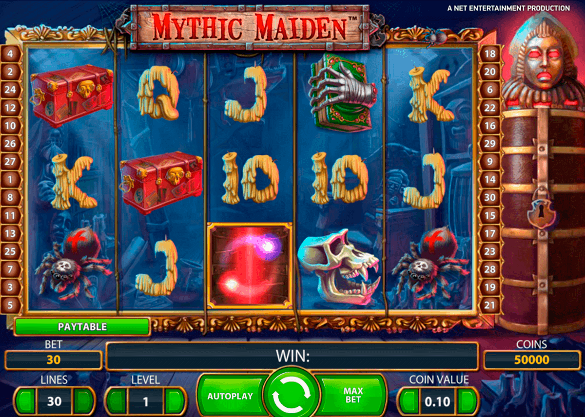 mythic maiden netent gokkasten