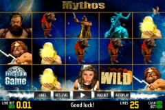 mythos hd world match gokkast