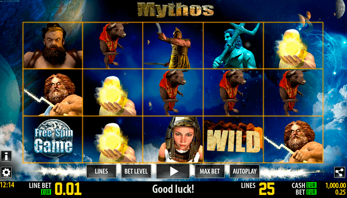 mythos hd world match gokkast