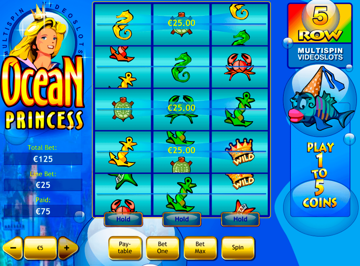 ocean princess playtech gokkast