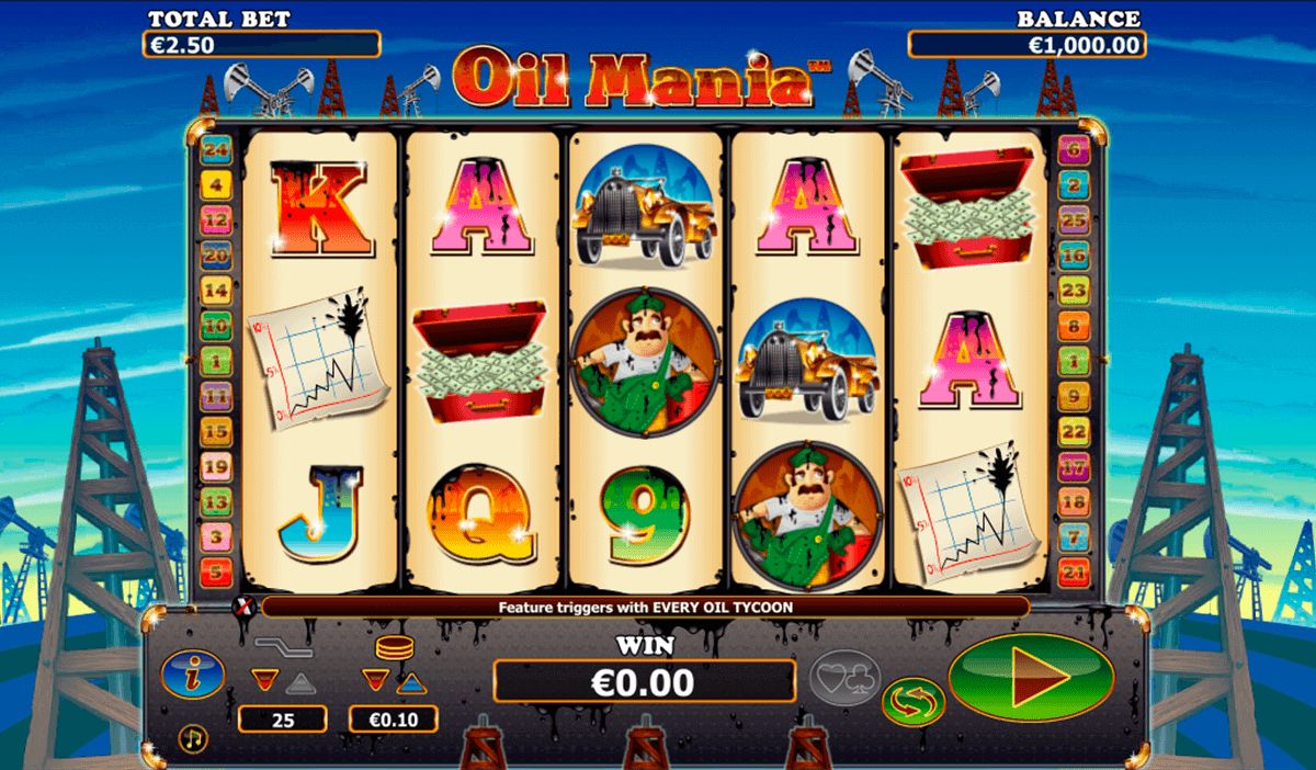 oil mania netgen gaming gokkast