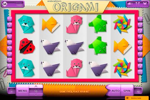 origami endorphina