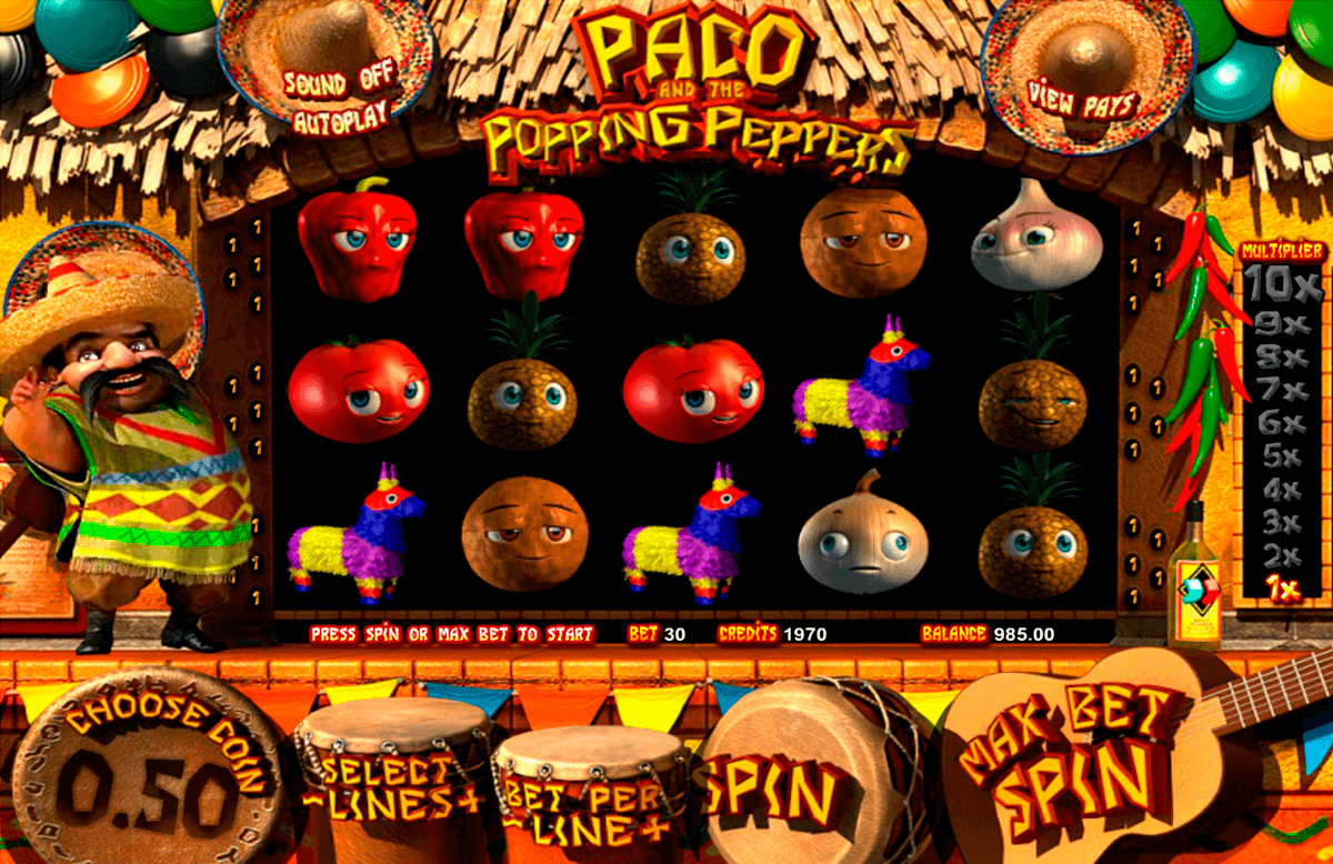 paco and the popping peppers betsoft gokkasten