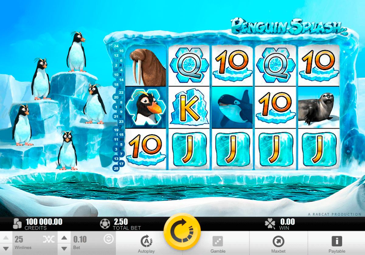 penguin splash rabcat gokkast