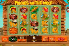 piggies and the wolf playtech gokkast