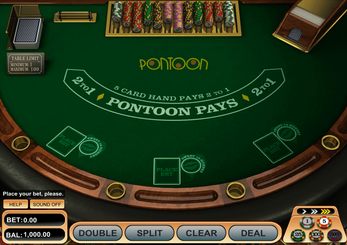 pontoon blackjack betsoft blackjack
