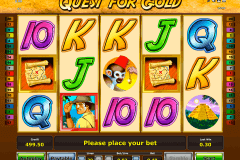 quest for gold novomatic gokkast