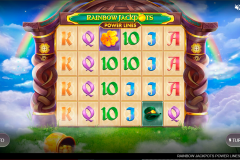 rainbow jackpots power lines red tiger