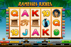 ramesses riches netgen gaming gokkast